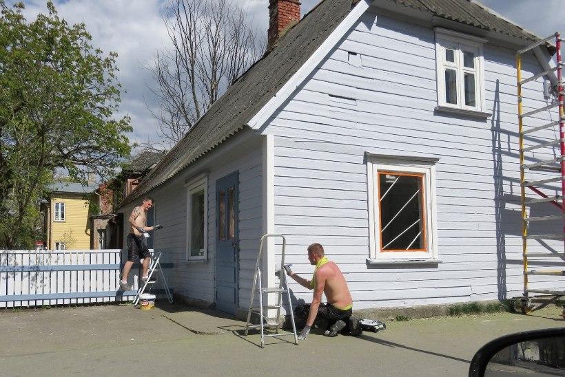 Majavärvijad saavad tänavu raha vastavalt kulutatud värvikogusele