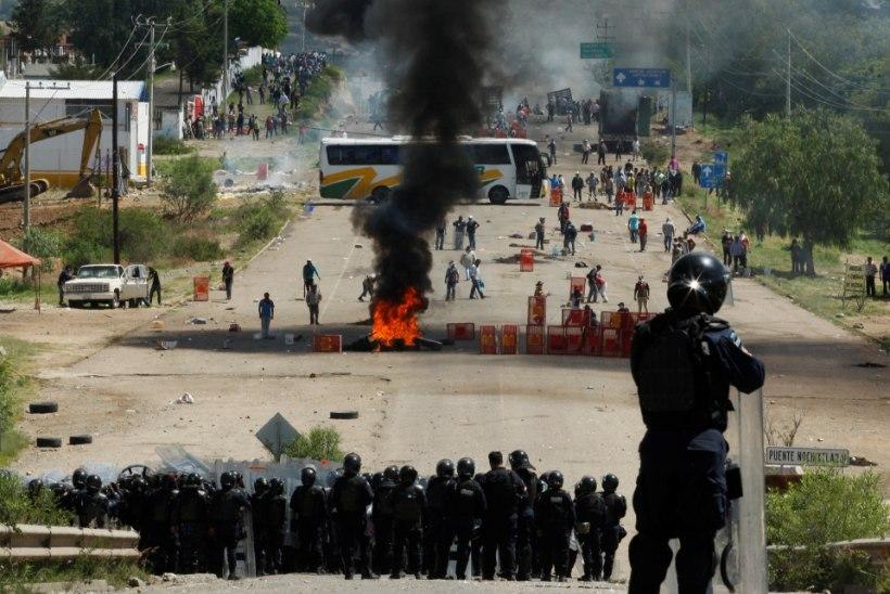 Mehhikos on õpetajate protestides hukkunud kuus inimest
