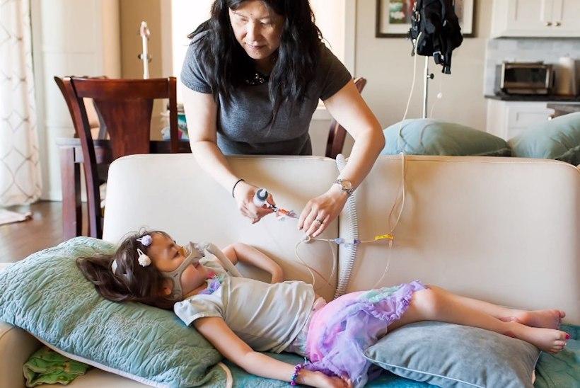 Haigla või taevas? Viieaastane tüdruk valis taevassemineku