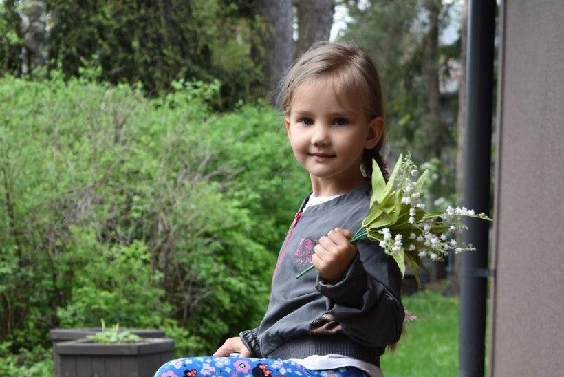 Haruldase haigusega tüdruku sõidab lastefondi toel Saksamaale operatsioonile