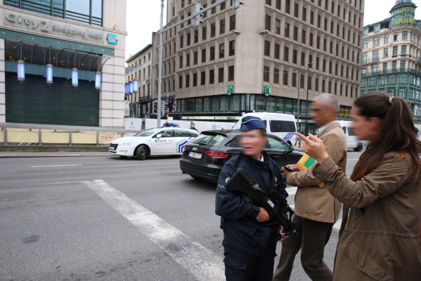 GALERII | Ärev olukord Brüsselis: vahistati pommiähvarduse teinud mees