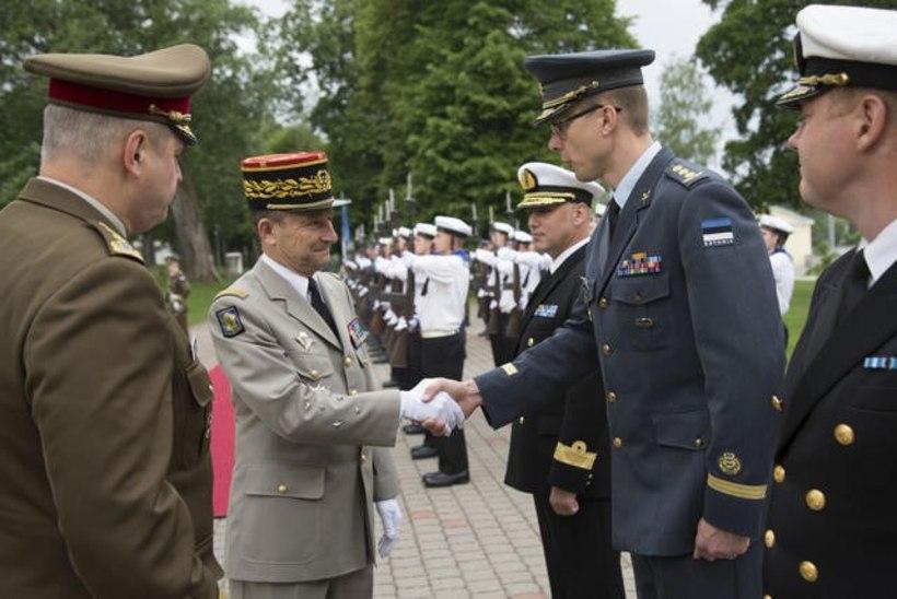 FOTOUUDIS | Prantsuse kaitseväe juhataja Eestis töövisiidil