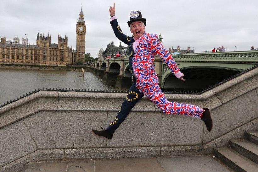 FOTOD | Pullivend O'Leary: britid, jääge Euroopa Liitu!