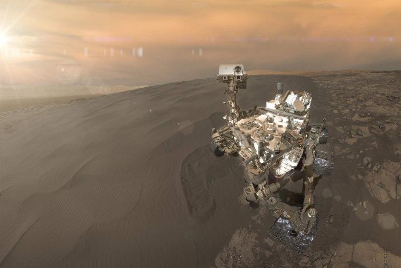 Marsi võiksid koloniseerida robotid, inimesed koligu pigem Kuule