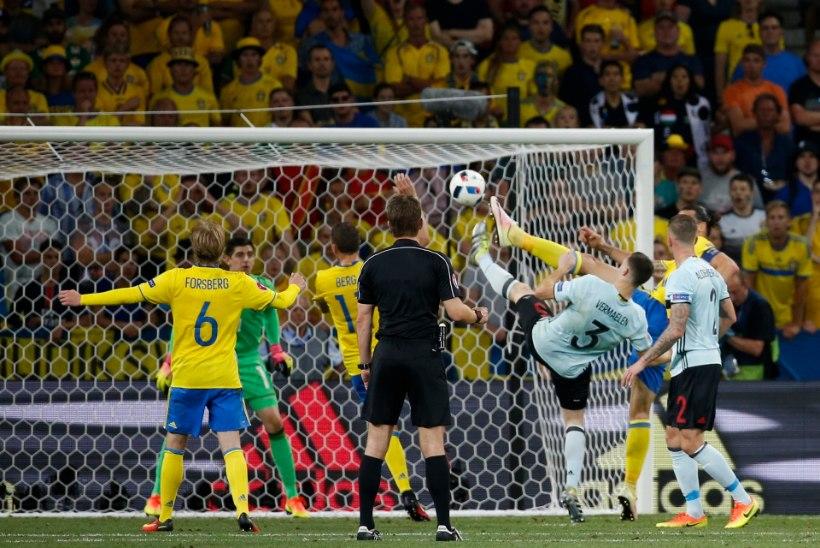 GALERII | Zlatani koondisekarjäär lõppes kaotusega Belgiale