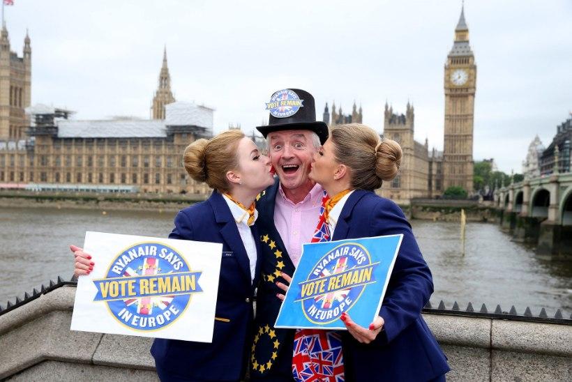 FOTOD   Pullivend O'Leary: britid, jääge Euroopa Liitu!