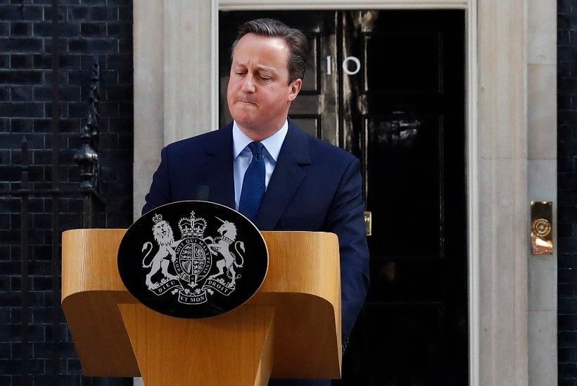 VIDEO | David Cameroni kõne pärast hääletuse tulemuse selgumist. Peaminister teatas tagasiastumisest