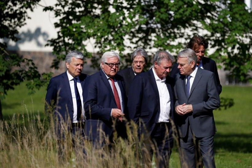 Euroopa Liidu asutajaliikmed kogunesid Berliini nõu pidama