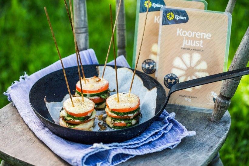TEE ISE: Kerge suupiste pärast söömapühi - suvikõrvitsa-juustuamps