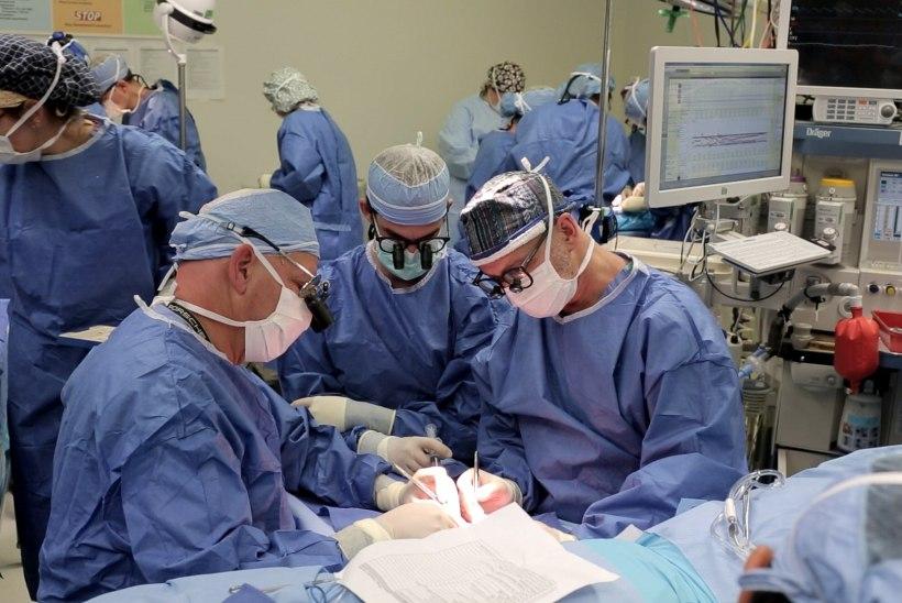 Kirurg amputeeris patsiendil terve jala