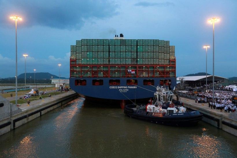 Avati laiendatud Panama kanal