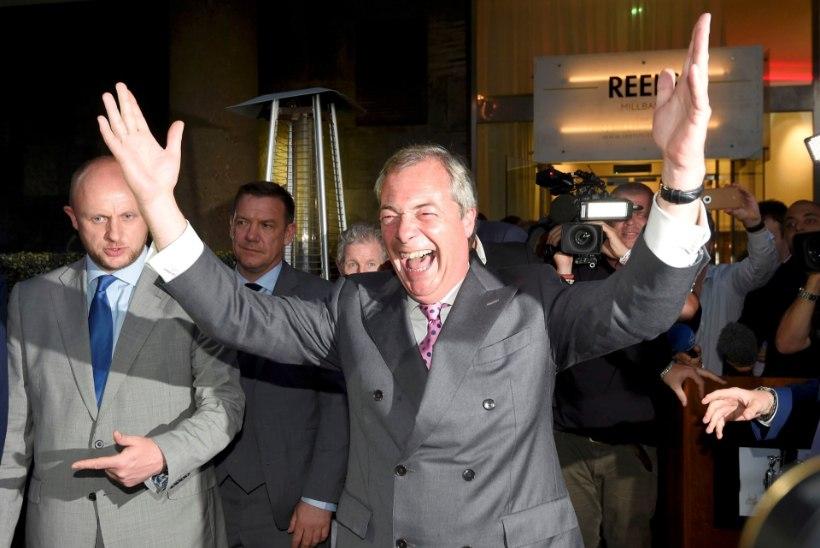 Britid otsustasid EList lahkuda, Suurbritanniat ähvardab lagunemine
