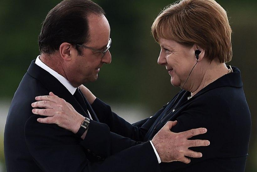 Merkel ja Hollande on Euroopa Liidu tuleviku suhtes täielikul kokkuleppel