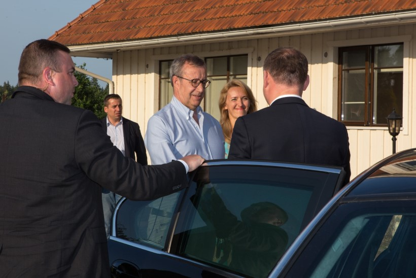 GALERII | President Ilves kohtus Ärmal Poola riigipeaga