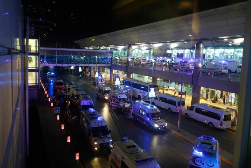 Istanbuli lennujaama tabas terrorirünnak