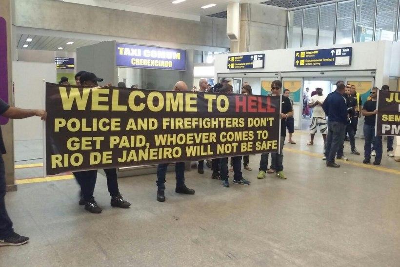 Rio politsei: tere tulemast põrgusse
