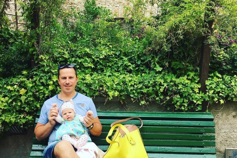 PILTUUDIS   Birgit Sarrap tähistab tütrekse sünnipäeva Hispaanias
