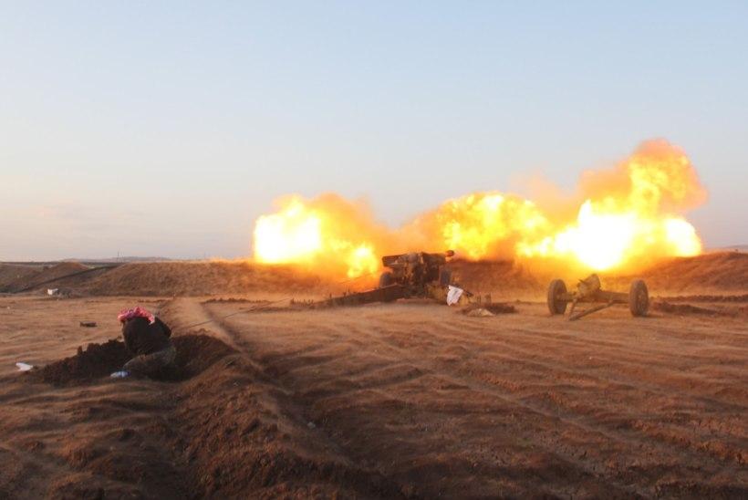 Süüria mässulised teevad ISISele säru