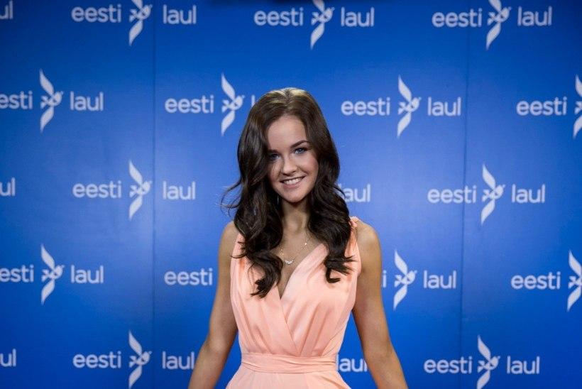 """STAARID SUVEL   """"Eesti otsib superstaari"""" täht Gertu Pabbo lendas esimest korda elus lennukiga"""