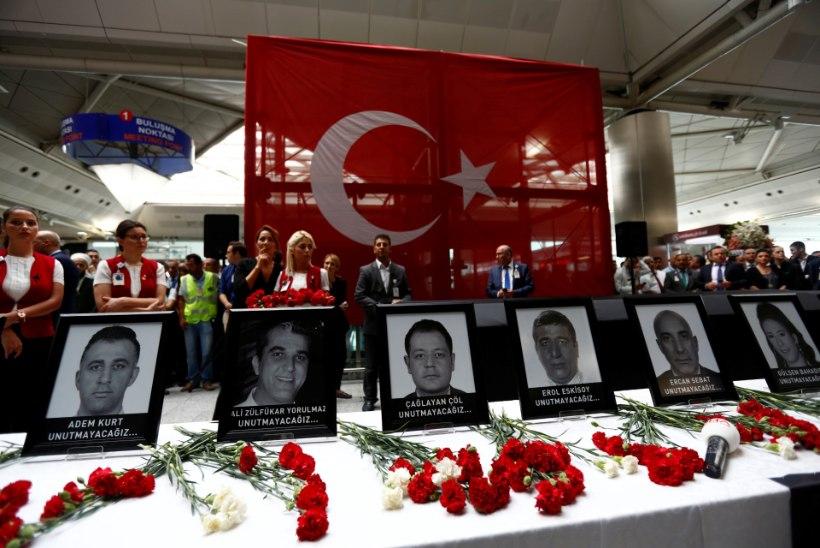 Istanbuli lennujaama terrorirünnaku tõttu Eestis ohutaset ei tõsteta