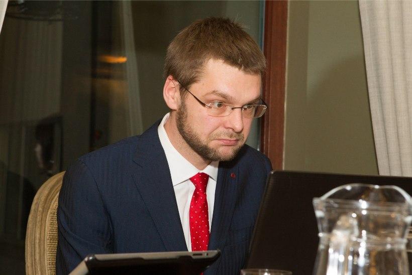 Ossinovski: Eesti suur ülesanne on ebavõrdsuse vähendamine