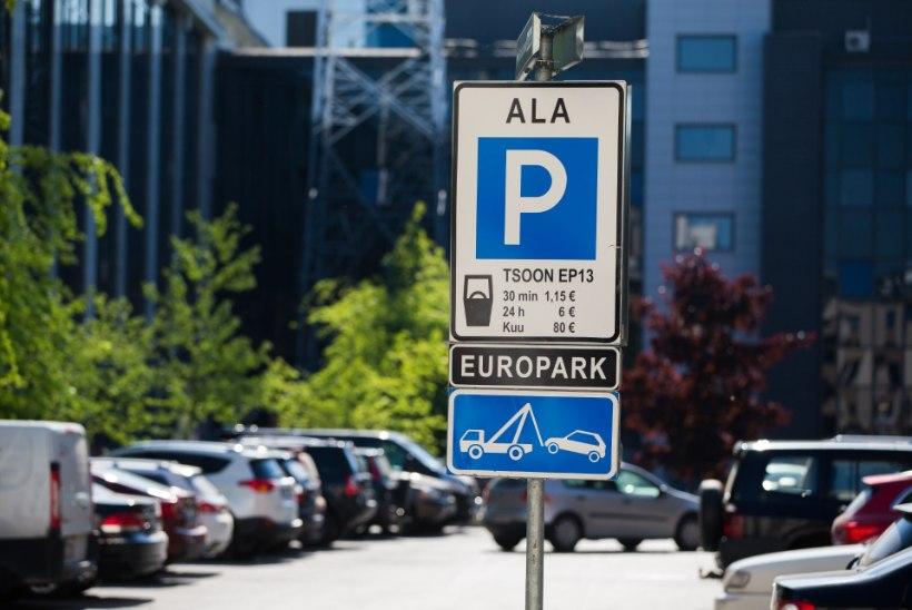 Kas eraparklates parkimistasust kõrvalehiilijate karistamatuse tundele pannakse punkt?
