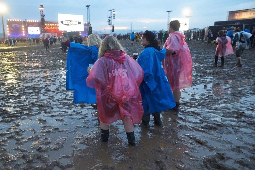 Välk sulges rokkfestivali