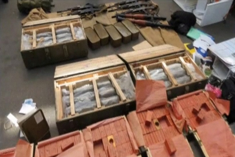 VIDEO: vaata, kuidas Ukraina piiril peeti kinni relvakoormaga prantslane