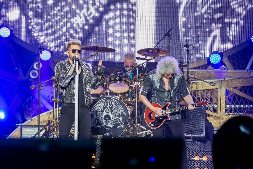 """Brian May kontserdipublikule: """"Olen eesti keelt terve päeva harjutanud!"""""""