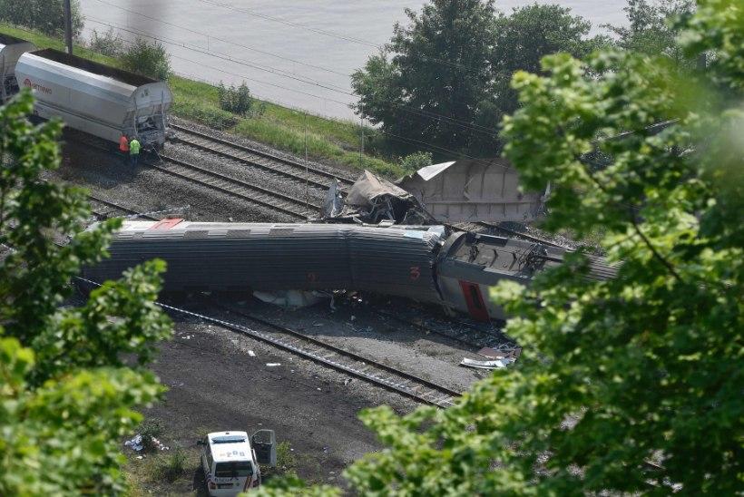 Rongiõnnetuse põhjustas välgulöök?