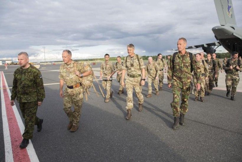 NATO üksused liitlasüksuste toomist Eestisse
