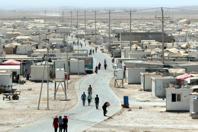 Ammani lähedal Baqaa põgenikelaagris tapeti Jordaania ohvitserid