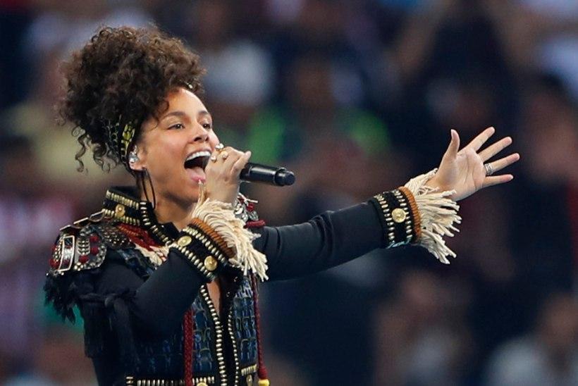 Alicia Keys loobus meigist