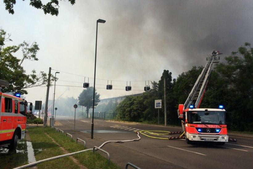 Düsseldorfis põles pagulaskeskus, politsei kuulab üle kuut migranti
