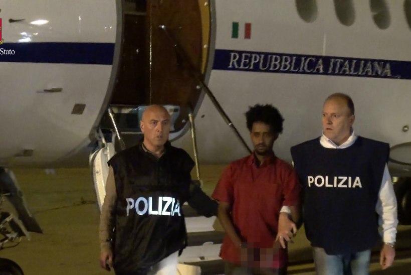 FOTOD | Sudaan andis Itaaliale välja eritrealase, kes on smugeldanud Euroopasse kuni 8000 migranti