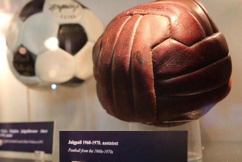 ÕHTULEHE VIDEO | Milliseid ägedaid esemeid leiab suurejooneliselt jalgpallinäituselt?