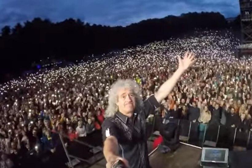 VAATA | Brian May avaldas Tallinnas endlikepiga tehtud video