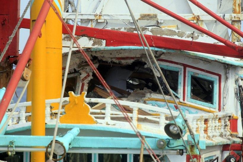 Taiwan tulistas eksikombel Hiina poole laevatõrjeraketi, mis tabas kohalikku kalapaati
