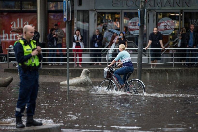 Uus torm! Seekord sai pihta Põhja-Eesti