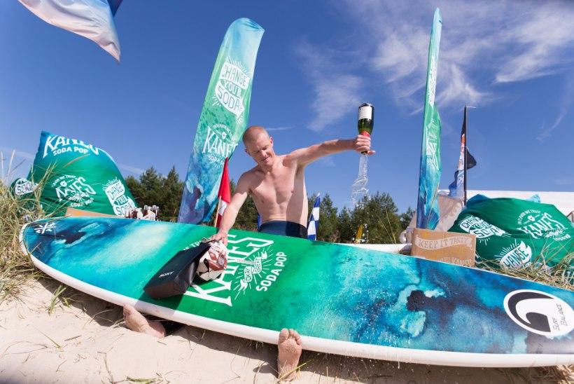 PRIIT PIUS: tahtsin võita surfivõistlusel Teele Viirat, et murda kõikvõimsa Saare naise müüt