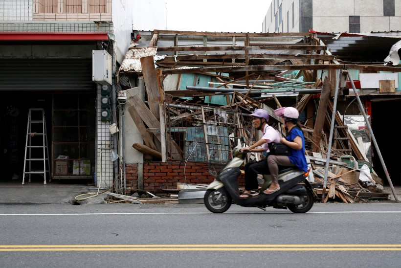 FOTOD MAALT JA KOSMOSEST | Nädalavahetusel möllas Taiwanil ja Hiinas viimase poolsajandi üks suurimaid tormihooaja alguse taifuune
