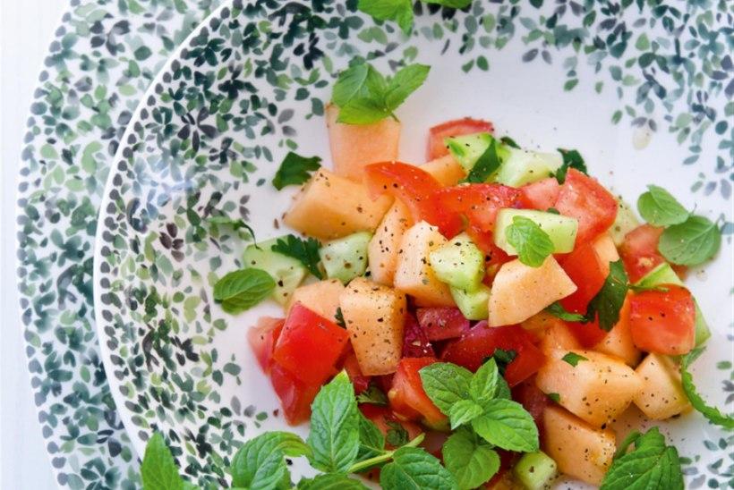 Tomati-meloni salat