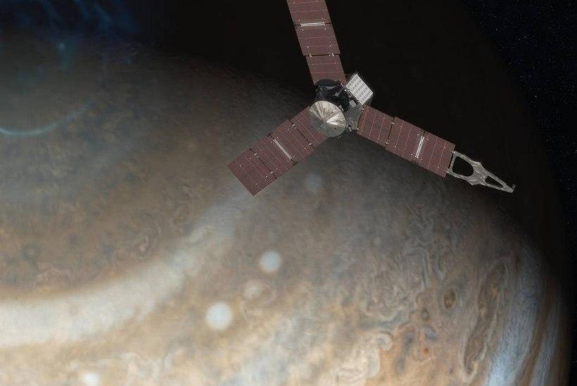 Selline on Juno esimene pilt Jupiterist!