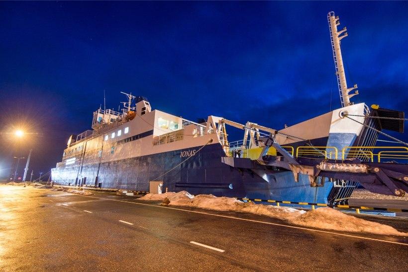 Parvlaev Ionas naasis liinile