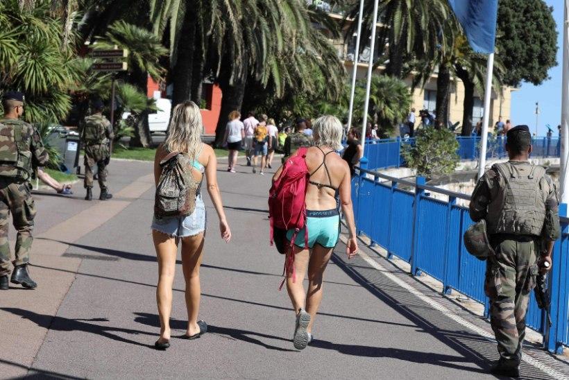 Pärast terrorirünnakut, milles sai vigastada ka neli eestlast, toodi Nice'i lisajõude