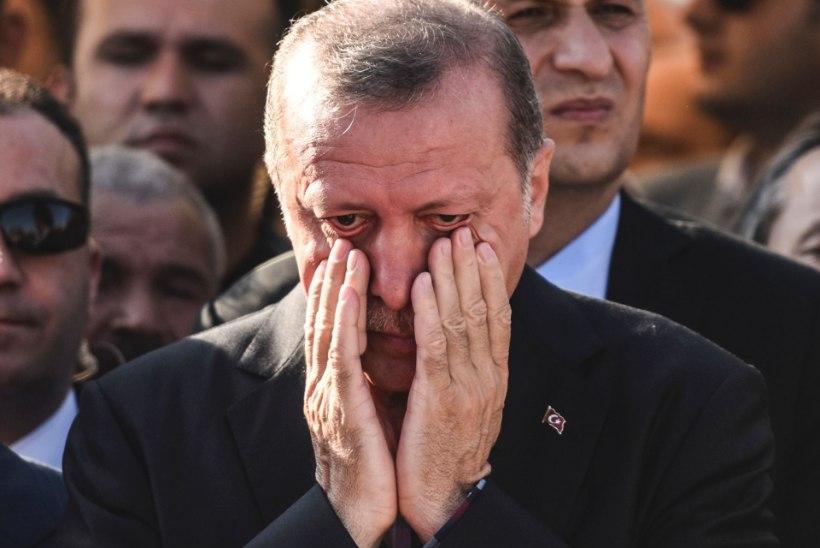 Türgi president pääses riigipöördekatsest napilt eluga?