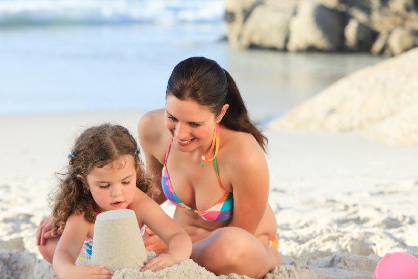 TRENNI ASEMEL: Kui palju kaloreid kulub ühe rannas käiguga?