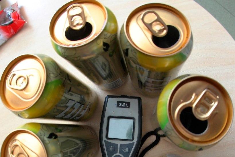 Alkoholivaba õlle, siidri ja veini saab poest kätte dokumendi ettenäitamisel