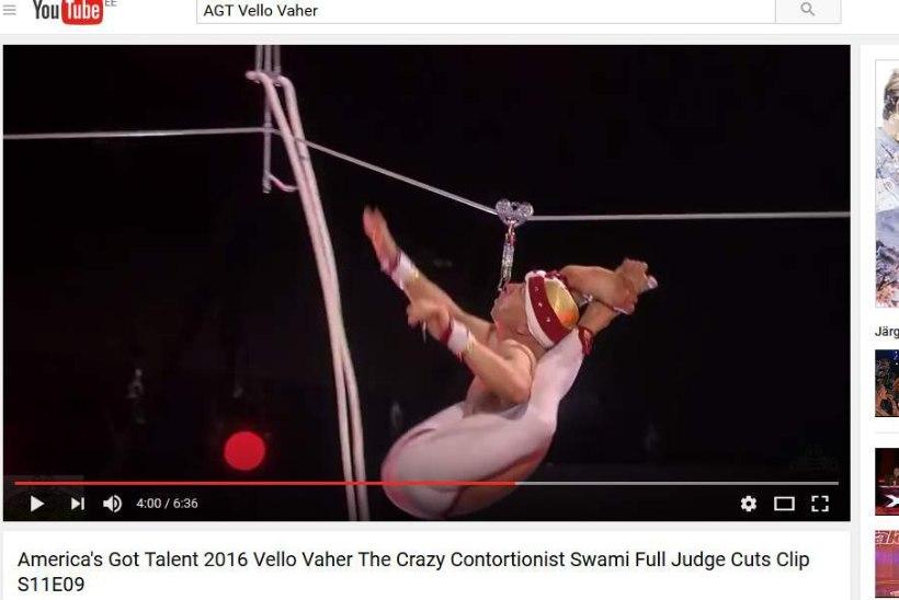Vello Vaher: kord kukkus mulle pähe tiigripuuri võre, kord tõmbasin esinedes näpu liigesest välja