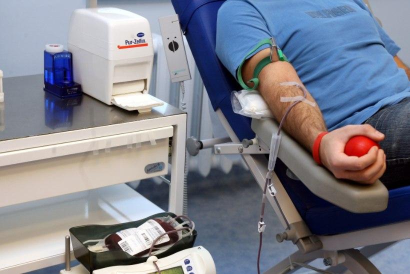 Verekeskus vajab hädasti 0- ja A- doonorite verd!
